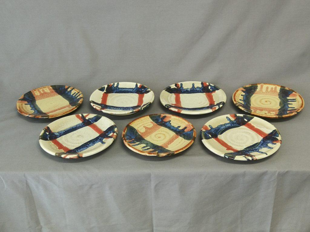 """Plates 7""""  $30- each"""
