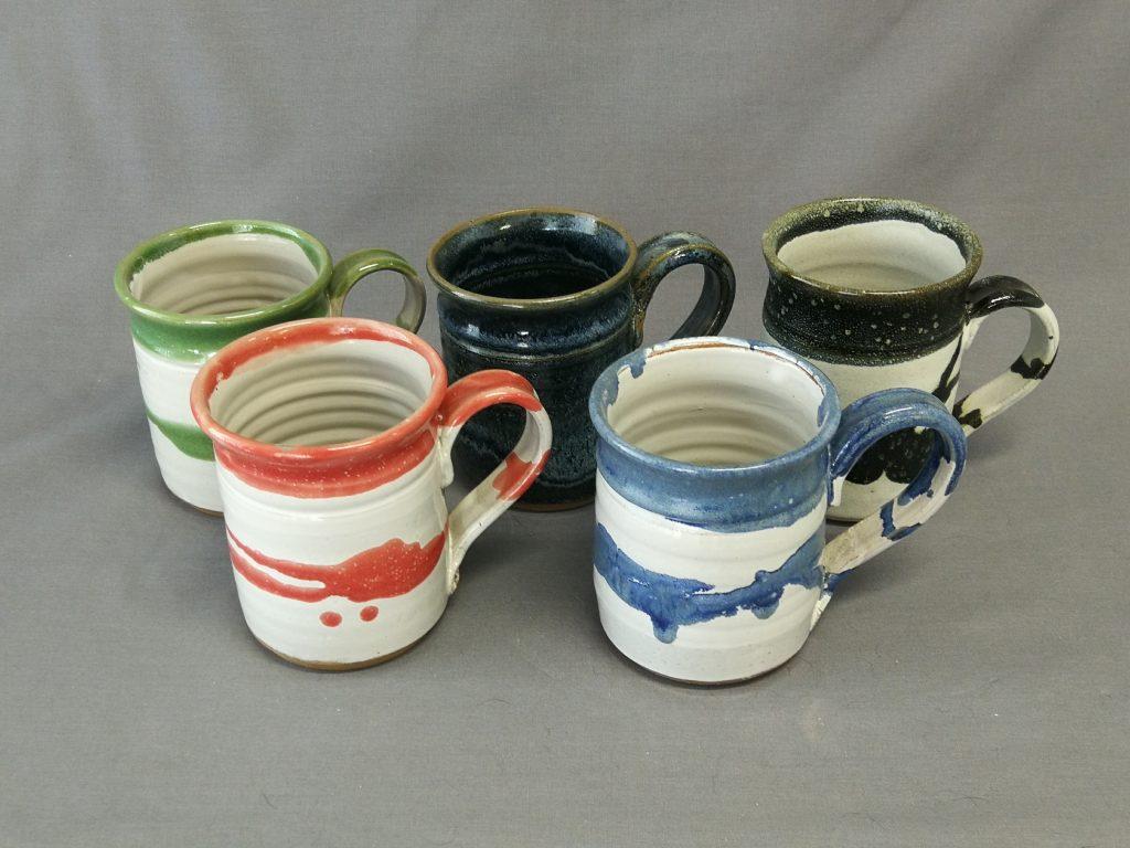 """Mugs 4""""- 5""""  $25- each"""