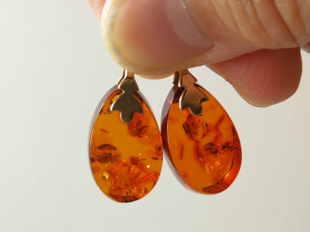 Amber Enhancers 10k yg  $85- pair