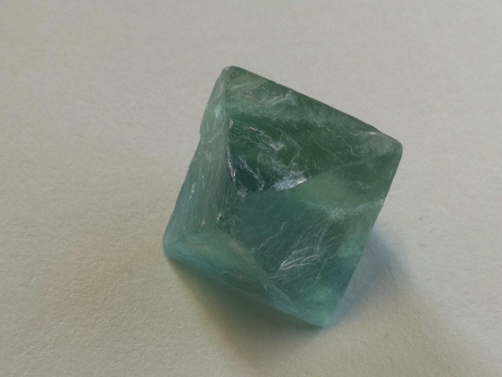 Fluorite (octahedron)  $12-