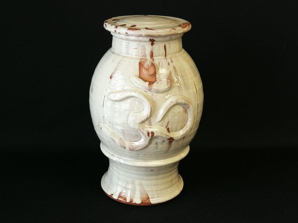 """AUM. Jar (17"""")  $250-"""