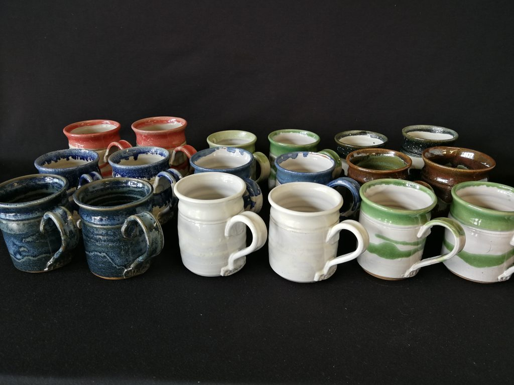 """Mugs (4"""") $40- each"""