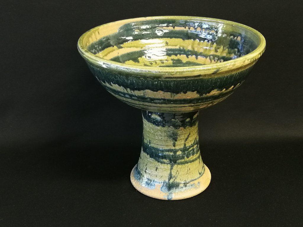 """Pedestal Bowl (13"""") $200-"""