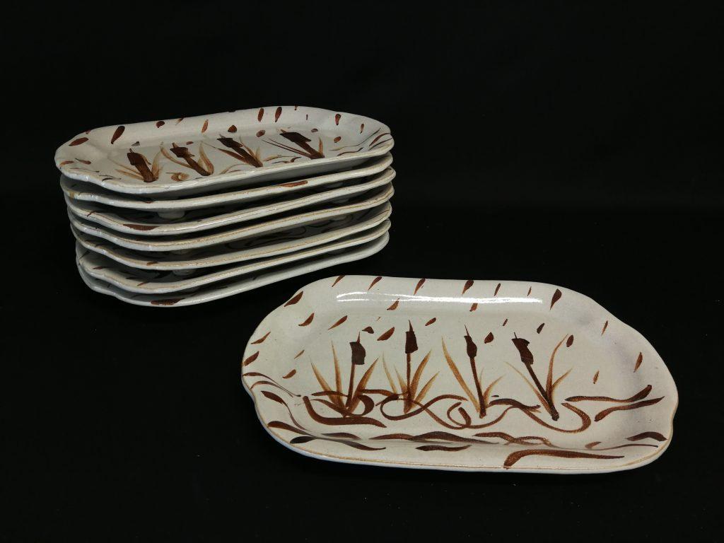 """Plates (12"""") $50- each"""