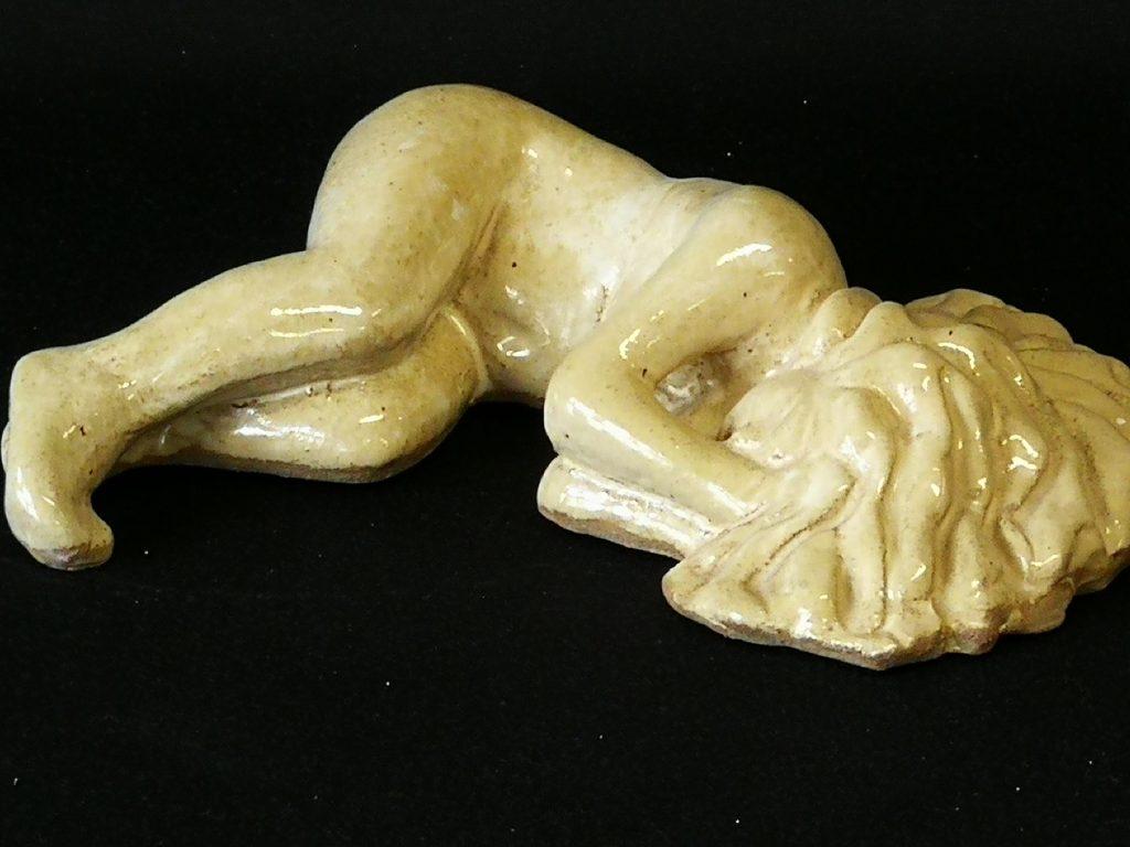 "Sleeping Woman (12"") $300-"