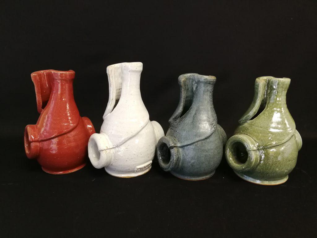"""Split Vases (8"""") $90- each"""