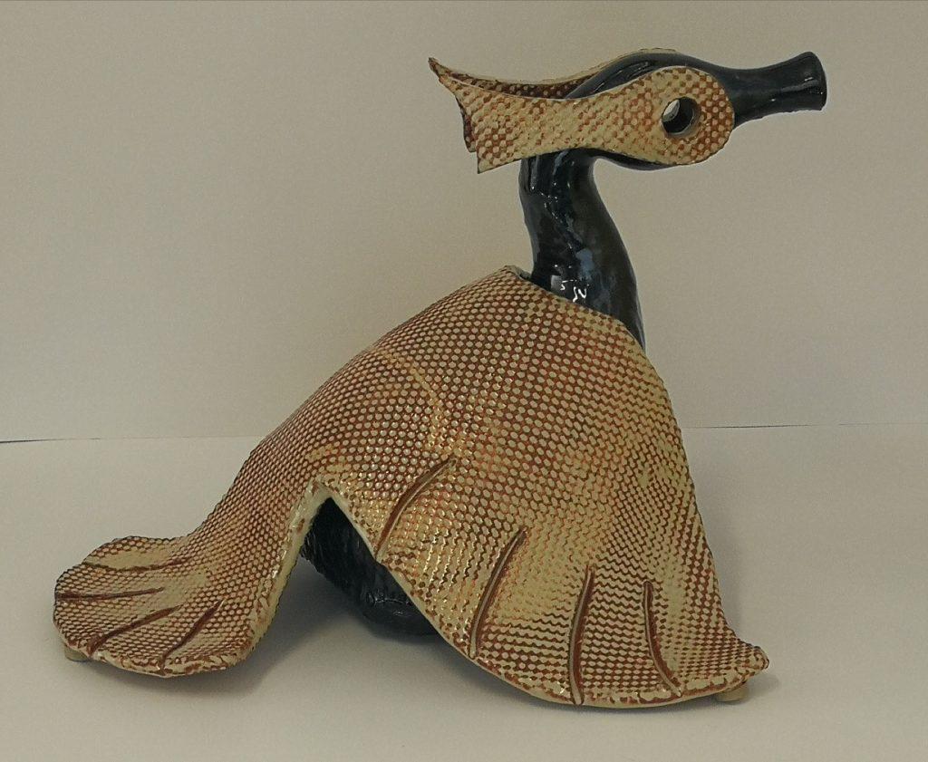 """Bird (12X16"""")  $350-"""
