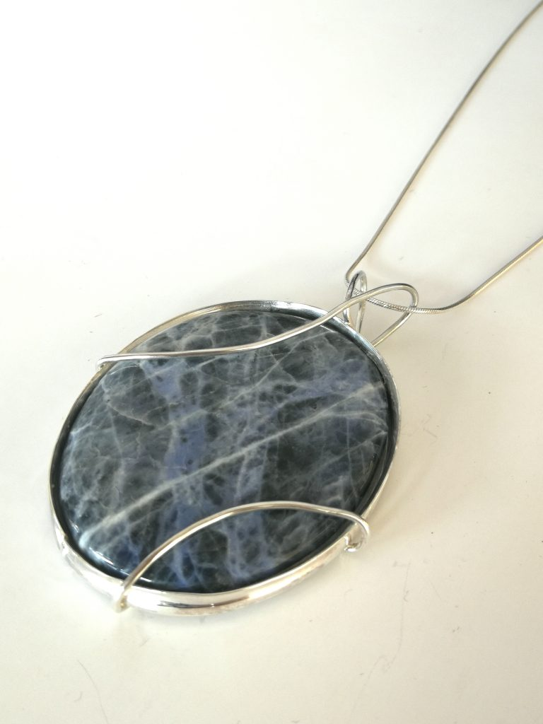 Sodalite on table