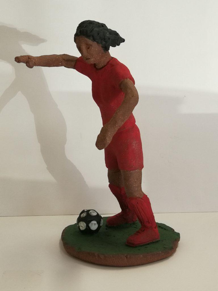 "Soccer Player (12"")  $300-"